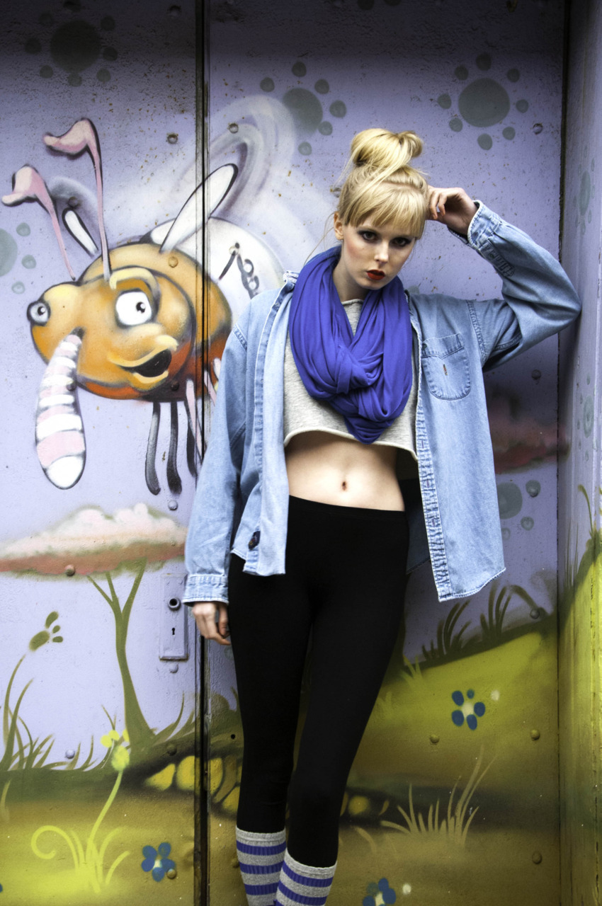 cartoon fly model: kendal @ bmg makeup: ashley durko