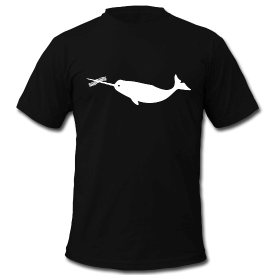 The Gilt Tech shirts are here! If you love bacon spearing narwhals, we might have the perfect shirt for you. See all Lauren's awesome designs on the Gilt Tech Shirt Store.