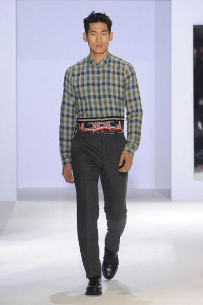 Jae Yoo for Christian Lacroix 2012/13 Paris Fashion Week He is doing so well!