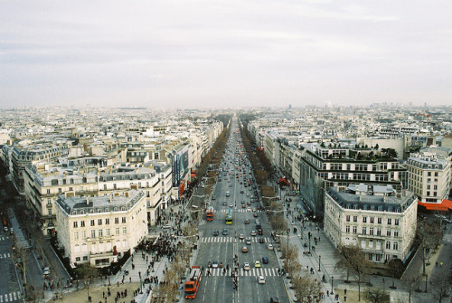 justpretendthatyoudidntknow:  On the top of Paris by vic xia on Flickr.