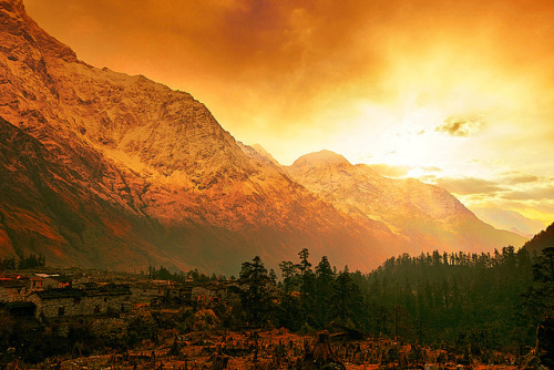 Himalayas peterjmarshall:  (by Sunrider007)