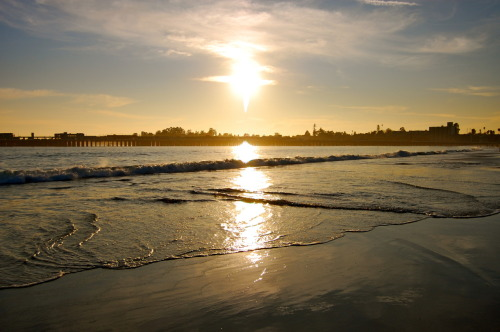 The Beautiful Santa Cruz Beach.