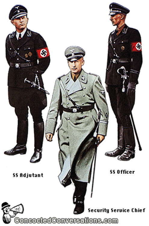 Fashion Student 1:  You know I hate Nazis as much as the next guy. Fashion Student 2:  Oh me too. They were the worst. Fashion Student 1:  The absolute worst. Fashion Student 2:  But you got to hand it to them… Fashion Student 1:  They really had a knack for design. Fashion Student 2:  I know, right! Fashion Student 1:  All those simple, clean lines… Fashion Student 2:  Strong colors… Fashion Student 1:  It just works! Fashion Student 2:  If they stuck to designing flags and uniforms… Fashion Student 1:  Rather than designing flags and uniforms and systematic genocide. Fashion Student 2:  They could have gone a lot further. Fashion Student 1:  Yeah, they really missed up their priorities.