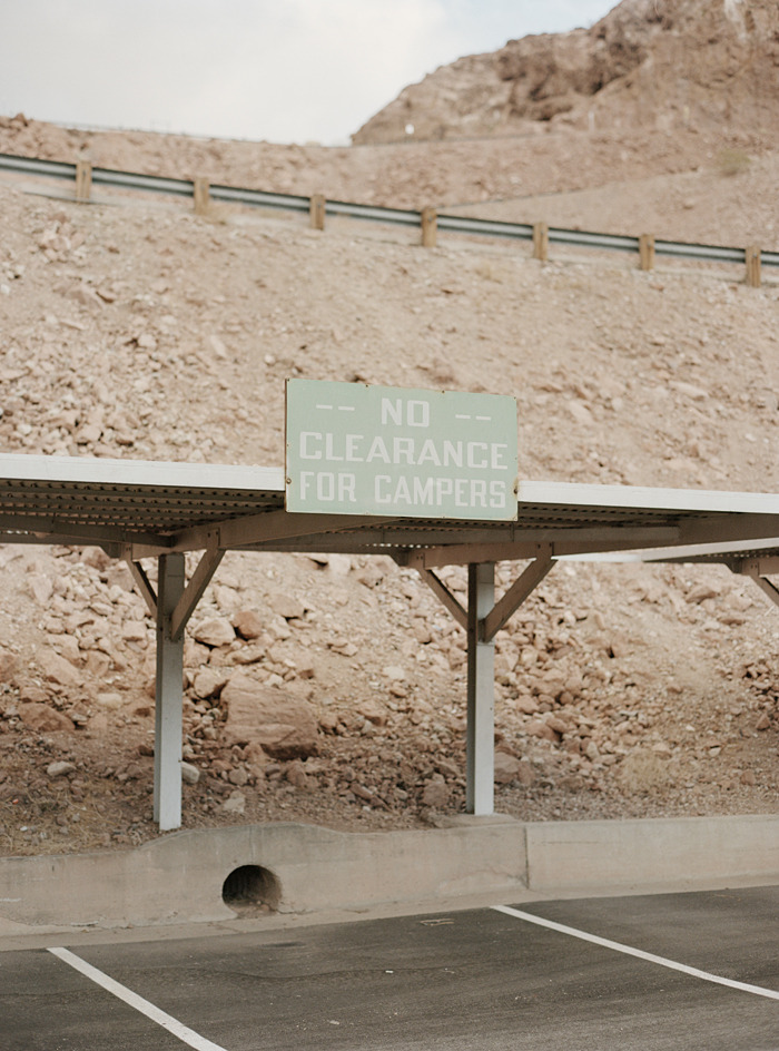 No Clearance For Campers, Hoover Dam - 2011