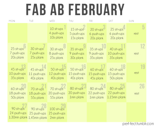 I've been looking for challenges for February!