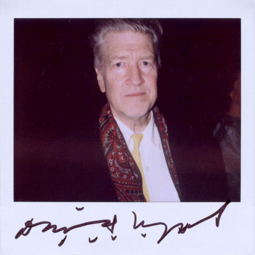 This whole world is wild at heart and weird on top. David Lynch via portroids.com