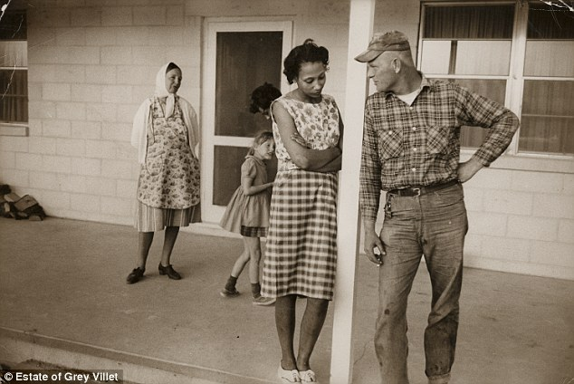 (via Photographs of the Loving's interracial marriage at a time when it was banned in 16 states | Mail Online)