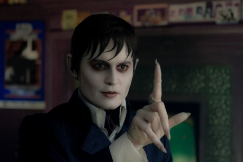 Johnny Depp & Tim Burton: Johnny Depp as Barnabas Collins in Dark Shadows (2012)
