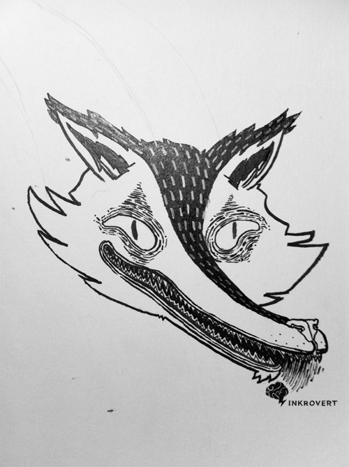 Fox. by Inkrovert