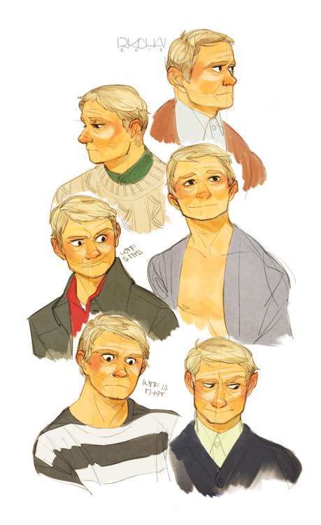rkchav:  figuring out how I want to draw john/martin's face I think I might young-ify him a bit
