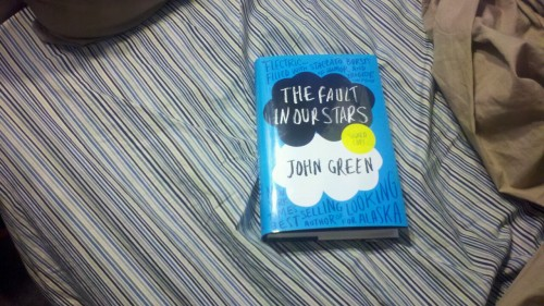 Just finished reading @realjohngreen's The Fault in Our Stars. Beautiful. That's all I can manage right now.