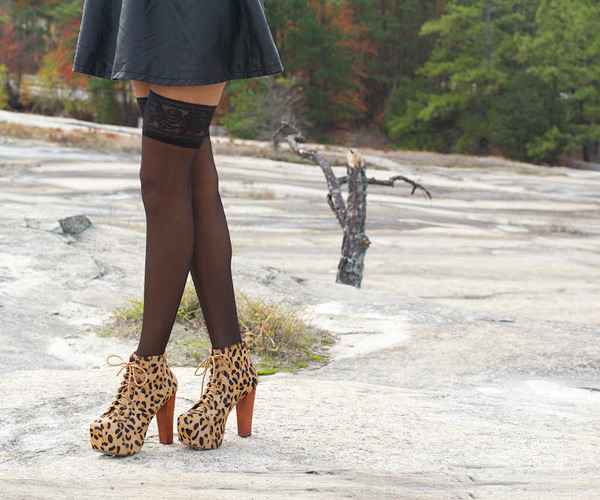 Limited Edition Jeffrey Campbell LITA in Leopard Pony  Exclusively at FLYJANE www.shopflyjane.com