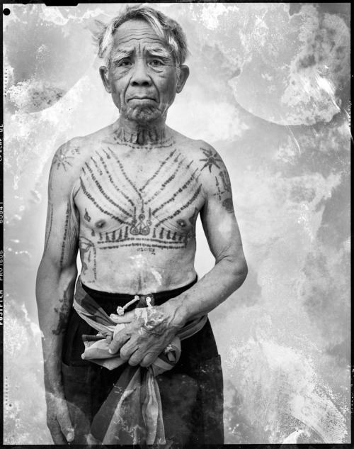 SACRED INK | Farmer from Surin Province with protective-mystic tattoos | by Cedric Arnold