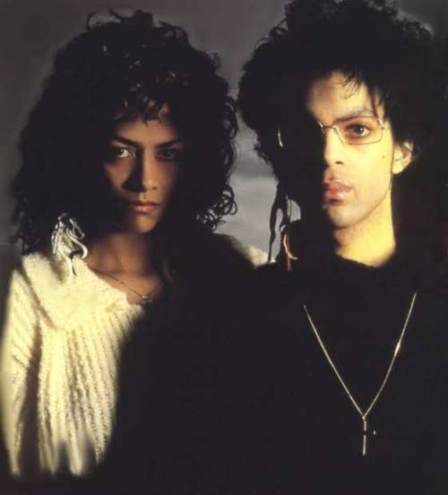 oldloves:  Prince & Sheila E.  Whose hair is bigger?