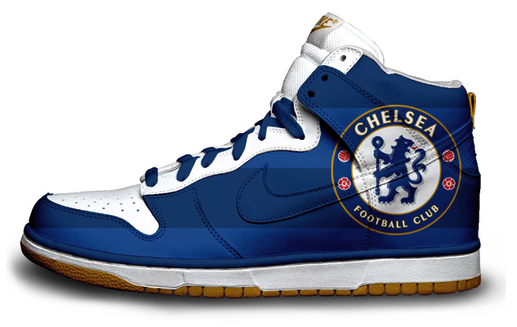 Amazing trainers by Nike, I don't know if these are real because Chelsea is sponsored by ADIDAS, but still amazing.