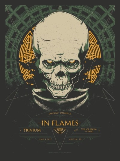 smooth:  OMG Posters!  Skull o' the Day