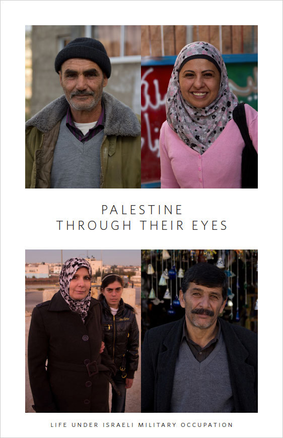 Palestine Through Their Eyes invites viewers to meet and experience the everyday realities of Palestinians whose entire existence has been transformed as a result of Israel's military occupation.The photo series is on display at Support, an exhibit curated by Quite Strong. If you are in the Chicago area, please stop by tonight, Friday 20 January from 6–9pm for the opening night. SupportCoalition Gallery 217 North Carpenter Street, Chicago IL20 Jan–10 Feb 2012