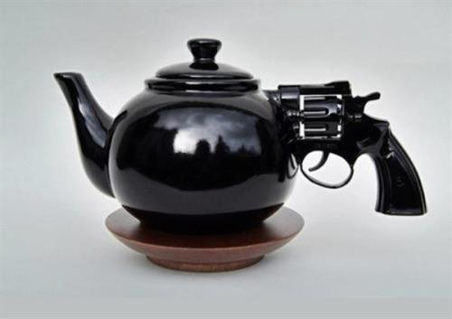 Nice Gun Teapot!