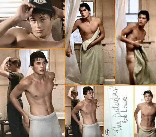 I can't be the only woman for whom Sodapop Curtis getting out of the shower acted as some sort of sexual awakening. Just beautiful.