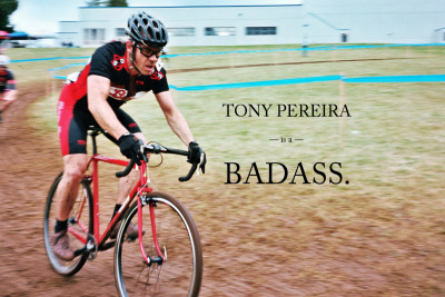 Thanks JD! theathletic:  Tony Pereira is a badass. He shreds the cyclocross on one of his own handmade creations. He was also featured in a little shop visit by our favorite Frenchie - Julie Krasniak over on Velo de Route. Check it out there, it is in French though. Which makes it all the more cooler.