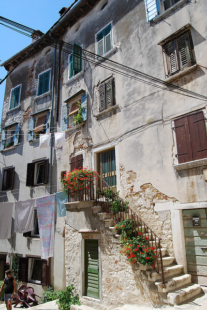 | ♕ |  Old townhouses - Rovinj, Croatia  | by © Tomàs Badia