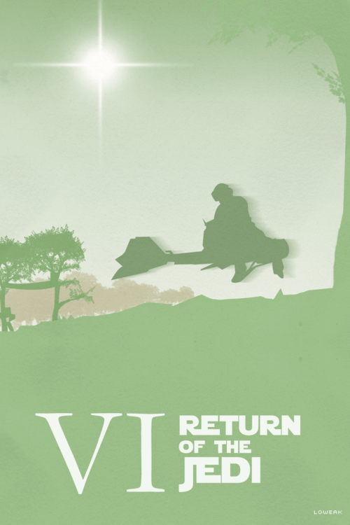 Today, Return Of The Jedi Poster !