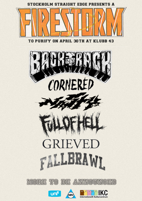 NEW BANDS ADDED: NASTY (BE) AND FALLBRAWL (DE)