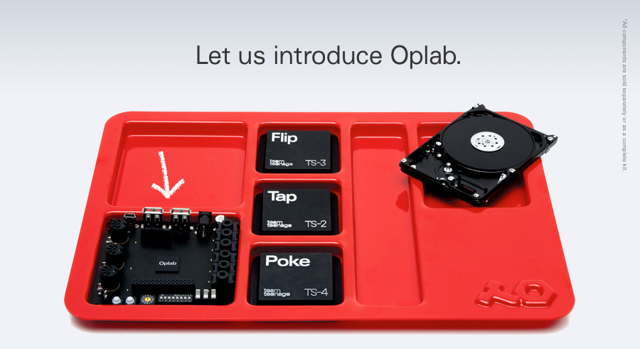 (via Oplab - Teenage Engineering) Oplab and sensors, eurorack mountable, 3 sensor typesOrdered! 6 weeks away though