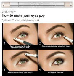 great highlighter how-to. read more tips here!