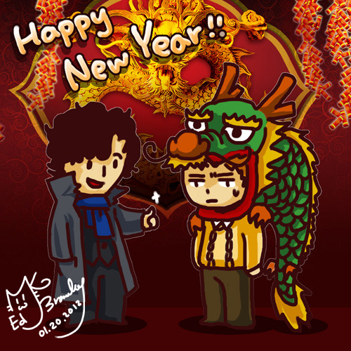 Happy Chinese New Year!! Happy holidays =)
