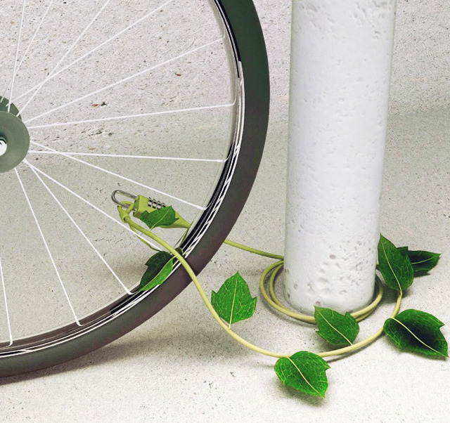 jaymug:  Ivy Bike Lock by RetroBanks