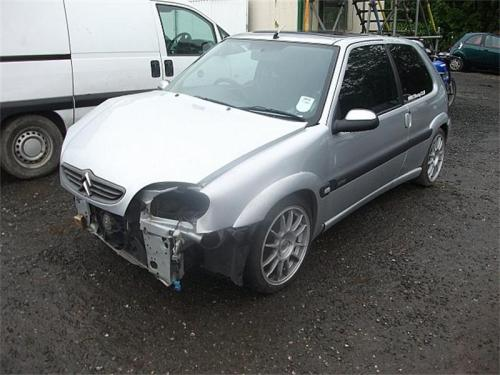 CITROEN SAXO 1.6I VTR Call Euro2Parts on: 0844 801 3499  Vehicle Details  Year:2002Approx Mileage:57,890 milesMake:CITROENModel:SAXO (1.6I VTR )Body Shape:Hatchback (3 Doors)Engine:1587ccTransmission:ManualFuel:PetrolColour:SILVERKeys Available:YesAudio Equipment:NoLocation:CLEAR 2Ref No.:Euro2Parts 37465 Return to Breakers List