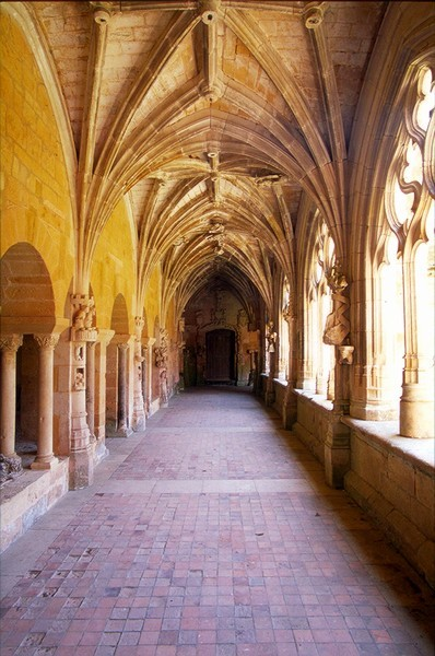 arthistorycq:  Vaulting from Cloister from Cadouin Abbey (Cistercian) Location: Le Buisson de Cadouin, France c. 12th century