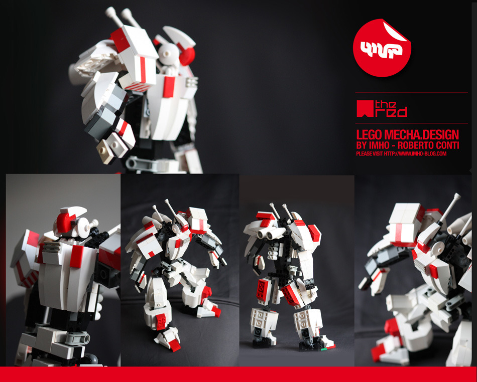 The Red - Lego Mecha design by Imho (Roberto Conti) Interested!? imho.work@gmail.com - www.imho-blog.com