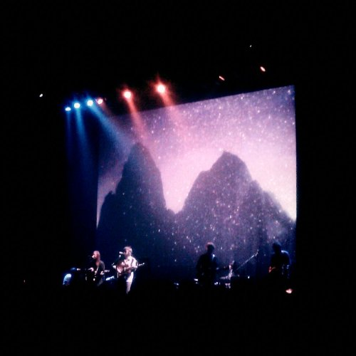 Fleet Foxes. In Tokyo. Just now.