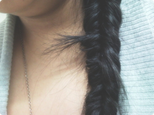 My messy braid ♥