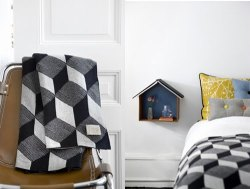 Blanket from Danish Ferm Living.