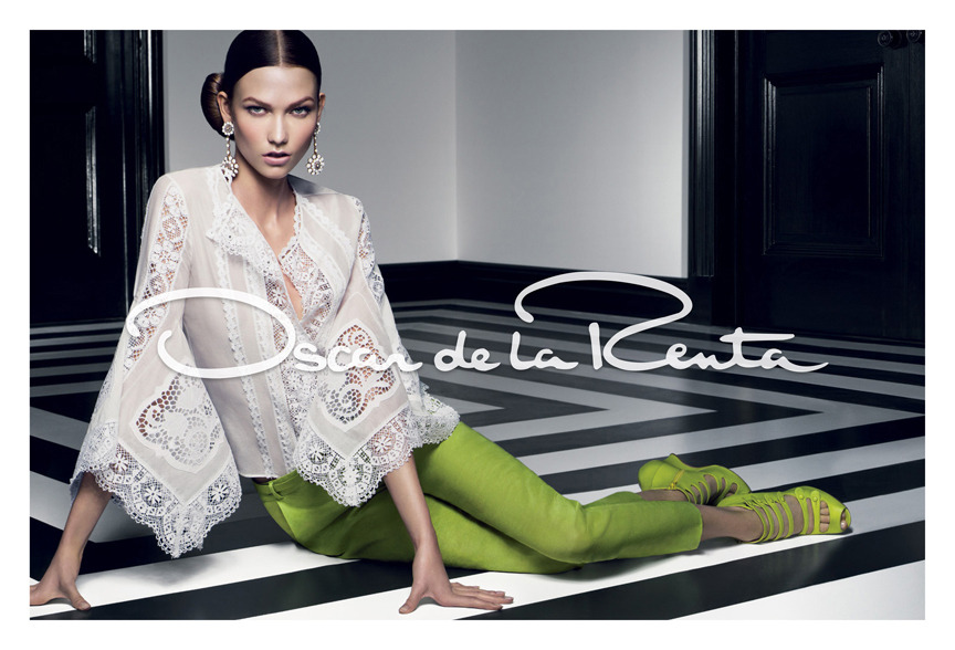 our spring 2012 campaign, shot by Craig McDean & featuring Karlie Kloss. Styled by Alex White.