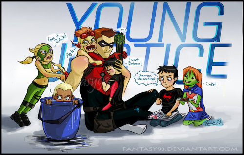 Really young justice! By ~fantasy93