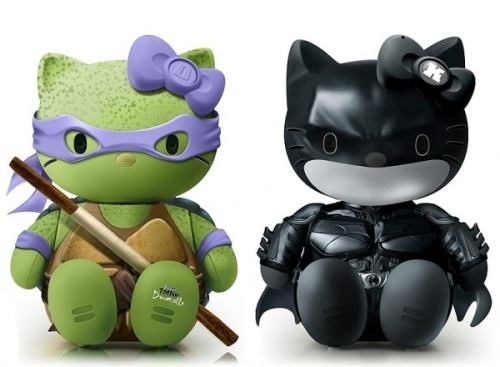 Yeah…these are freakin' awesome! (via Pop Culture Hello Kitty)