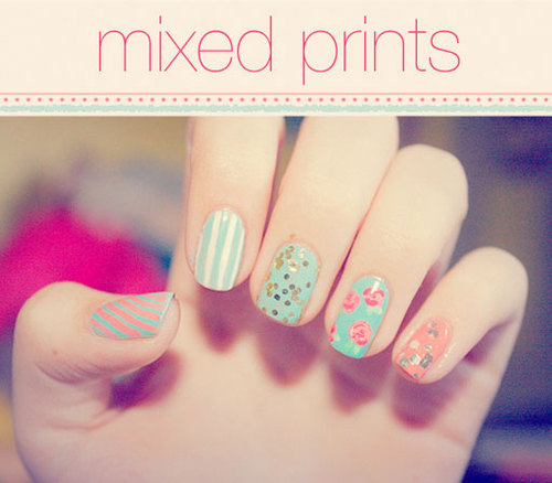 How-To: Instant Nail Arts - Do Yourself | ~She Exists~ | to Add Colors in Life on We Heart It. http://weheartit.com/entry/21441151