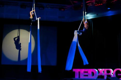 tedx:  This amazing acrobatic performance was featured at TEDxBG in Sofia, Bulgaria.  The troop wowed the crowd with their amazing acrobatics in mid air.  You can find more photos here.