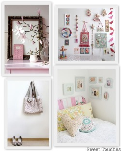 Love these sweet touches from decor8. When you don't have a large headboard for your bed like me, frames just above the pillows make all the difference. #cozywozy