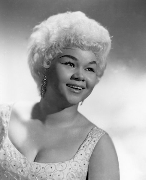 "afternoonsnoozebutton:  thedailywhat:  RIP: Etta James, the legendary genre-spanning singer who gave the world many memorable hits including ""At Last"" and ""The Wallflower,"" has passed away. She was 73. James, who was diagnosed with leukemia 2010, had been in poor health for some time. Affectionately known as Miss Peaches, the Matriarch of R&B had multiple Grammys to her name, and was inducted into both the Rock & Roll Hall of Fame and the Blues Hall of Fame. Incidentally, the man who discovered James, Johnny Otis, passed away just yesterday. [cnn.]  RIP, Etta  ;______________;"