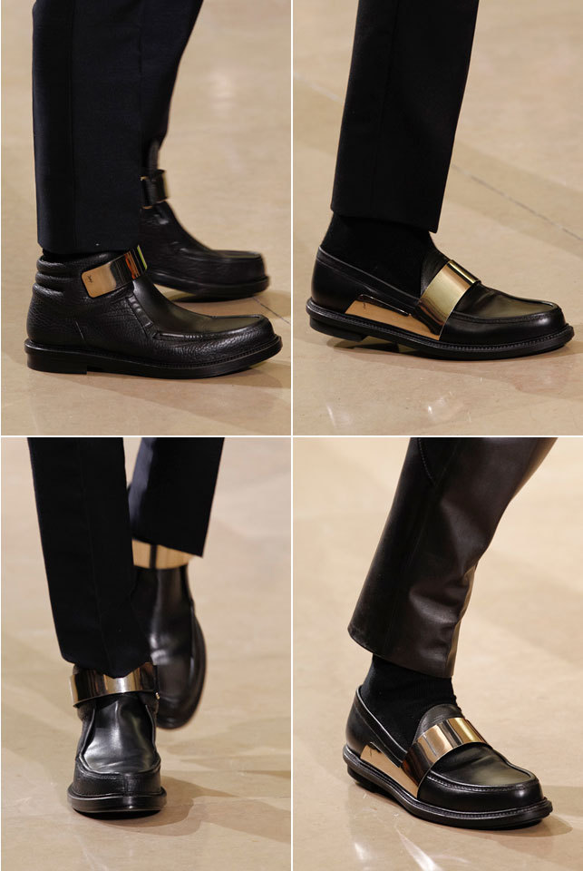 gqfashion:  It's All in the Details: Yves Saint Laurent Get a closer look at the Yves Saint Laurent Fall 2012 men's collection from Paris at GQ.com.