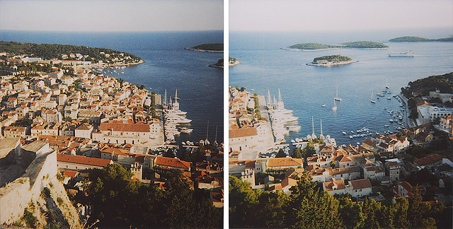 View from Hvar Spanjola Fortress. by m o r n i n g h e a d a c h e on Flickr.