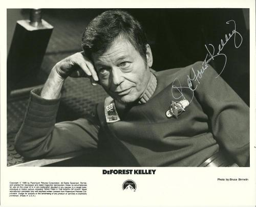 Deforest Kelly (Jan 20, 1920 – June 11, 1999) would be 92 years old today. Happy birthday, De. We miss you.