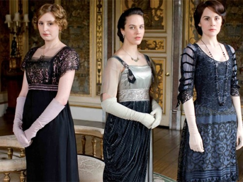 Lady Mary, Lady Edith and Lady Sybil