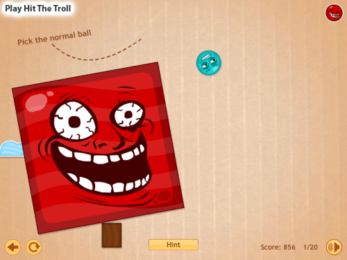 beplayed:  Play Hit the Troll | Free Online Games