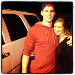 Met Brad Wing last night!
